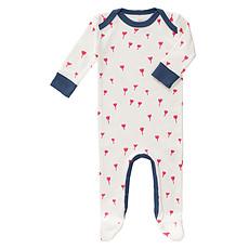 Achat Body & Pyjama Pyjama Tulipes Rouges - 3/6 Mois