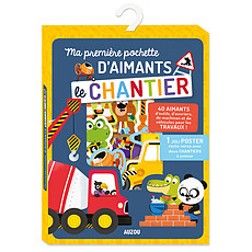 Achat Mes premiers jouets Ma Première Pochette d'Aimants - Le Chantier