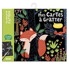 Achat Livre & Carte Mes Cartes à Gratter - Forêt