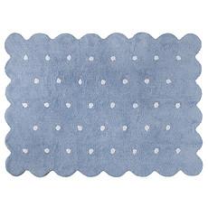 Achat Tapis Tapis Lavable Biscuit Bleu - 120 x 160 cm