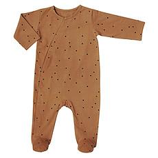 Achat Body & Pyjama Combinaison Jour et Nuit Pois Nut - 6 Mois