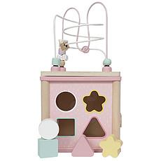 Achat Mes premiers jouets Cube d'Activité Aventure - Rose