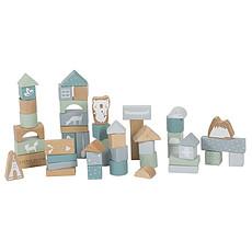 Achat Mes premiers jouets Blocs de Construction en Bois - Bleu