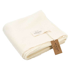 Achat Linge de lit Couverture en Laine Mérinos - Crème