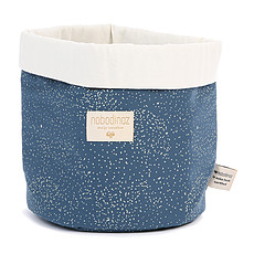 Achat Panier & corbeille Panier de Rangement Panda Medium - Gold Bubble & Night Blue