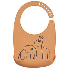 Achat Bavoir Bavoir Silicone Deer Friends - Moutarde
