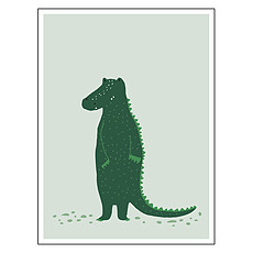 Achat Décoration Poster - Mr Crocodile
