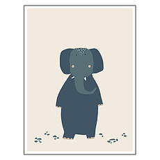 Achat Affiche & poster Poster - Mrs Elephant