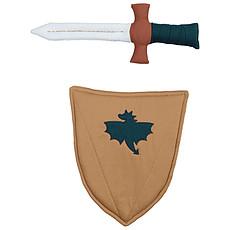 Achat Anniversaire & Fête Épée et Bouclier de Chevalier en Tissu