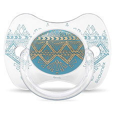 Achat Sucette Sucette Ethnic Turquoise - 18 Mois