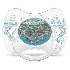 Achat Sucette Sucette Ethnic Turquoise - 18 Mois