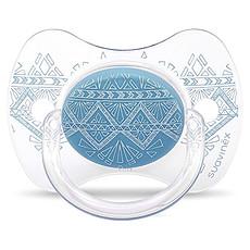 Achat Sucette Sucette Ethnic Turquoise - 0/4 Mois