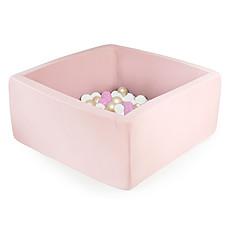 Achat Mes premiers jouets Piscine à Balles Carrée Rose 110 x 40 cm + 400 Balles