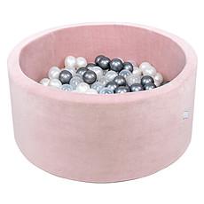 Achat Mes premiers jouets Piscine à Balles Rose Pale 90 x 40 cm + 200 Balles
