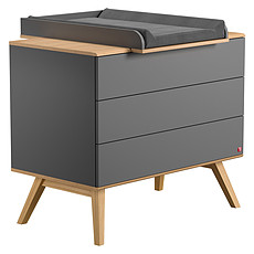 Achat Commode Commode à Langer Nature - Gris