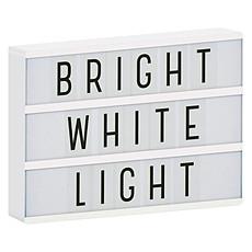 Achat Lampe à poser Lightbox - Blanc