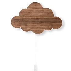 Achat Suspension  décorative Applique Nuage - Chêne Fumé