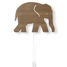 Achat Suspension  décorative Applique Eléphant - Chêne Fumé