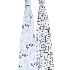 Achat Textile Coffret de 2 Maxi-Langes - Gone Fishing