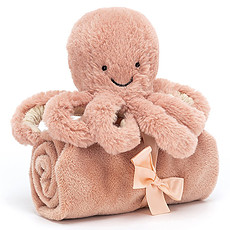 Achat Doudou Odell Octopus Soother