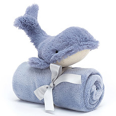 Achat Doudou Wilbur Whale Soother