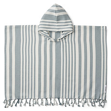 Achat Linge & Sortie de bain Poncho Roomie Sea Blue - 2/4 Ans