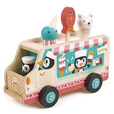 Achat Mes premiers jouets Le Chariot de Crème Glacée des Pingouins