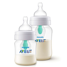 Achat Biberon Lot de 2 Biberons Anti-colic avec Valve AirFree - 125 et 260 ml
