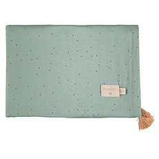 Achat Linge de lit Couverture d'Eté Treasure - Toffee Sweet Dots & Eden Green