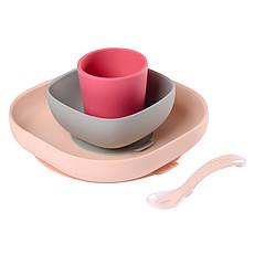 Achat Coffret repas Set de Vaisselle 4 Pièces - Pink