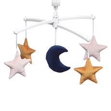 Achat Mobile Mobile Lune et Etoiles Velvet - Rose