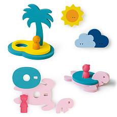 Achat Mes premiers jouets Puzzle de Bain L'Île aux Trésors