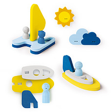 Achat Mes premiers jouets Puzzle de Bain Mettre les Voiles