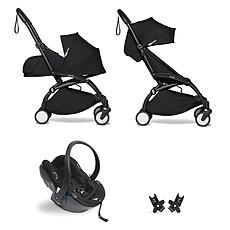 Achat Poussette combinée Poussette Duo YOYO² Complète Châssis Noir 0+ et 6+ et Siège Auto iZi Go Modular i-Size Groupe 0+ Noir - Noir