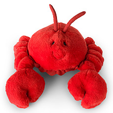 Achat Peluche Coral le Crabe - Rouge