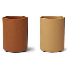 Achat Tasse & Verre Lot de 2 Verres Ethan - Yellow Mix