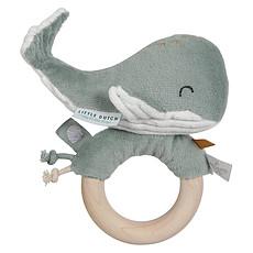 Achat Hochet Hochet Baleine Ocean - Menthe