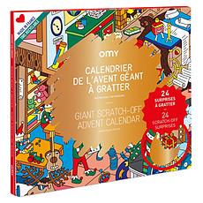 Achat Livre & Carte Calendrier de l'Avent Géant à Gratter