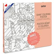 Achat Livre & Carte Poster à Colorier - Dance