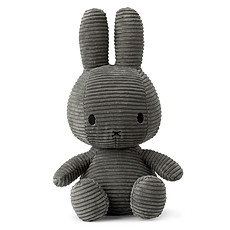 Achat Peluche Lapin Miffy Anthracite - Grand