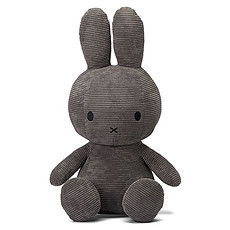 Achat Peluche Lapin Miffy Anthracite - Géant