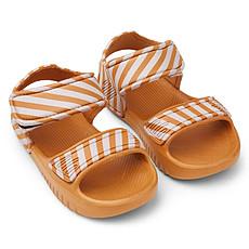 Achat Chaussons & Chaussures Sandales Blumer Moutarde et Crème de la Crème - 25