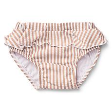 Achat Accessoires bébé Culotte de Bain à Volants Elise Coral Blush et Crème de la Crème - 3/9 Mois