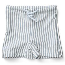 Achat Accessoires bébé Short de Bain Otto Rayé Bleu et Blanc - 3/9 Mois