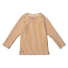 Achat Accessoires bébé Tee-Shirt Noah - Rayé Moutarde et Blanc