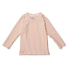 Achat Accessoires Bébé Tee-Shirt Noah Coral Blush et Crème de la Crème - 3/9 Mois