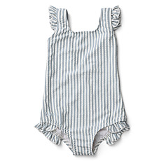Achat Accessoires bébé Maillot de Bain Tanna Rayé Bleu et Blanc - 3/9 Mois
