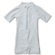 Achat Accessoires bébé Combishort de Bain Max - Rayé Bleu et Blanc