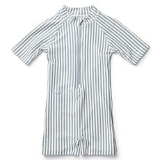 Achat Accessoires bébé Combishort de Bain Max Rayé Bleu et Blanc - 3/9 Mois