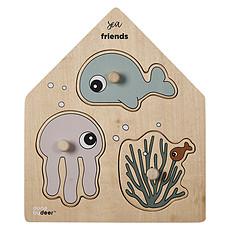 Achat Mes premiers jouets Puzzle Encastrable Sea friends